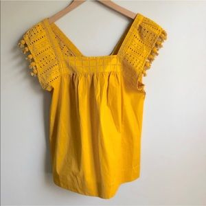 For the Republic Mustard Yellow Top